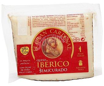 Gran Cardenal Quesos Ibérico semicurado 360 Gramos Aproximados