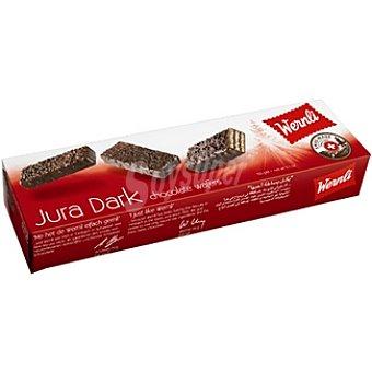 WERNLI Jura Dark Wafers con chocolate Estuche 100 g