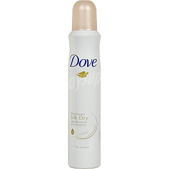 Dove Desodorante Silk Dry sin alcohol Spray 200 ml