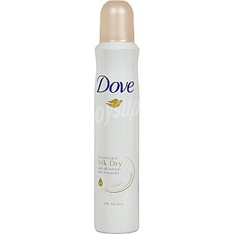 Dove Desodorante Silk Dry sin alcohol Spray 200 ml
