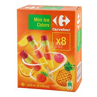 Carrefour Mini helado colores 8 ud