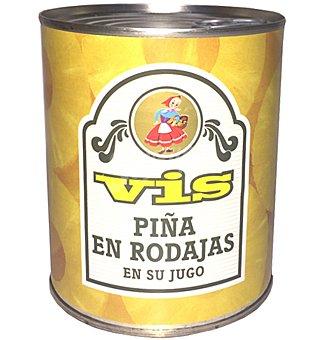 Vis Piña en rodajas en su jugo Lata 340 g