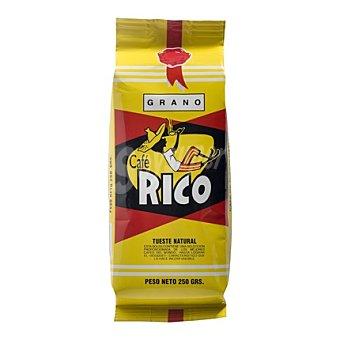 Rico Café en grano natural Paquete 250 g