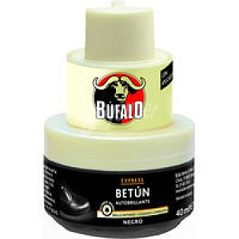 Calzado Crema color negro para búfalo 40 ml