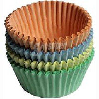Sil Molde de cupcakes de colores Pack 30 unid