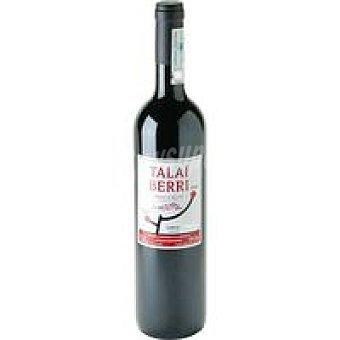 D.O. Getaria Beltza TALAI BERRI Txakoli Botella 75 cl
