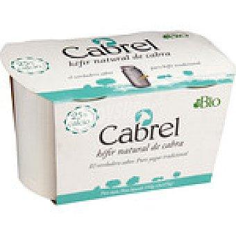 Cabrel kefir natural de cabra ecológico  pack 2 envases 125 g