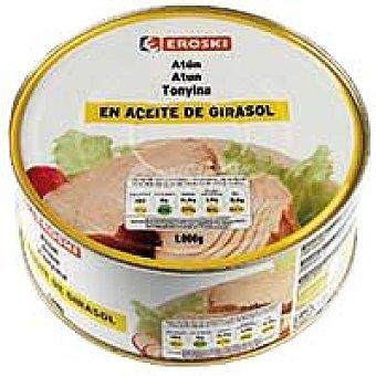 Eroski Basic Atún en aceite de girasol Lata 900 g