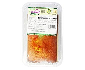 SINBLAT Bizcocho artesano sin gluten, sin lactosa 280 gr