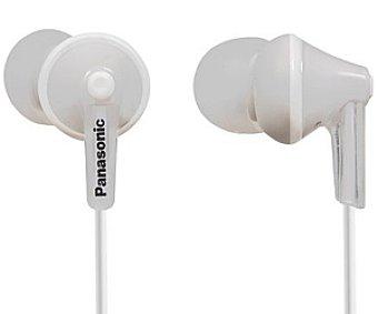 PANASONIC RP-HJE125E-W Auriculares tipo Intrauricular Auricular Intrauditívo