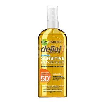 Delial Garnier Aceite solar Sensitive Advance FP 50+ 150 ml