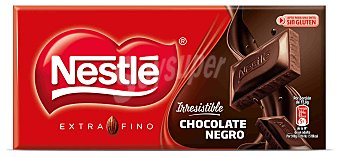 Nestlé Chocolate negro extrafino sin glutén 125 g