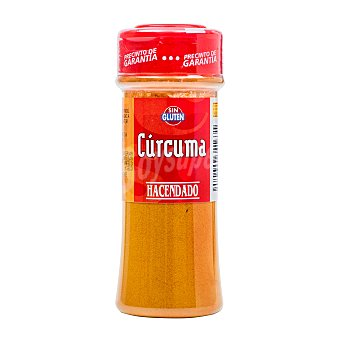 Hacendado Cúrcuma (tapón rojo) Tarro 60 g