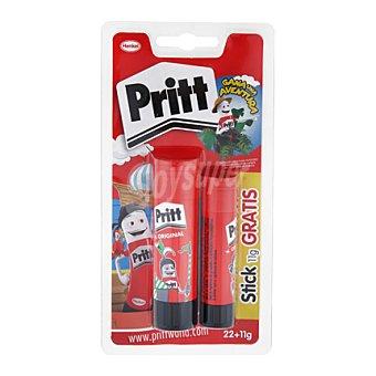 Pritt Barra adhesiva 22 gramos + pritt barra adhesiva 11 gramos 22 gramos