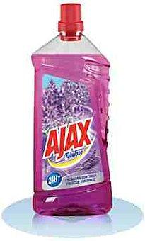 Ajax Limpiahogar aroma de lavanda Botella 1 litro