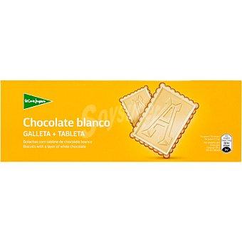 Aliada Galletas con tableta de chocolate blanco  Estuche 150 g