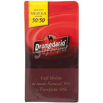 Dromedario Café molido mezcla 50/50 Paquete 250 g