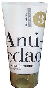 DELIPLUS Crema manos nº 3 Antiedad antimanchas  Tubo de 125 cc