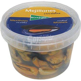 El Corte Inglés Mejillones frescos cocidos sin concha Tarrina 300 g