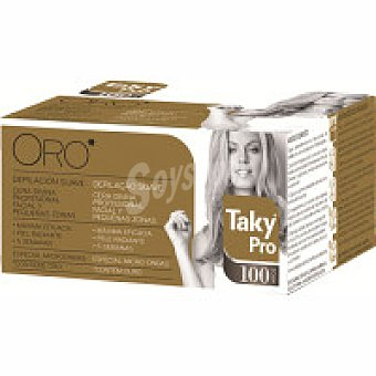 Taky Cera Oro divina facial y zonas pequeñas Pro 100g 100g
