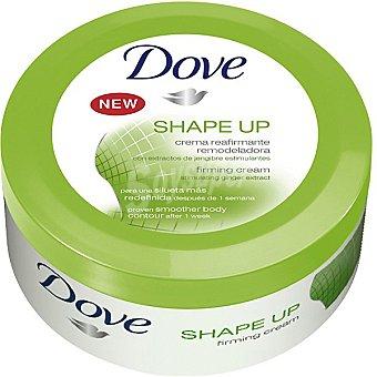 Dove Crema shave up reafirmante remodeladora con extractos de jengibre estimulantes Tarro 250 ml
