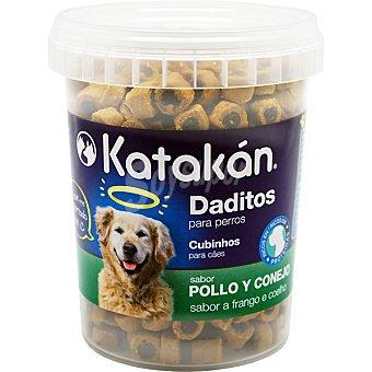 KATAKÁN Daditos para perro sabor pollo y conejo  Envase de 300 g