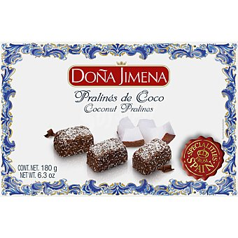 Doña Jimena Prálines de coco Estuche 180 g
