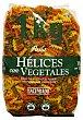Helices pasta vegetal Paquete de 1 kg Hacendado