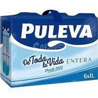 Puleva Cj6 Leche Brik Enter 1l