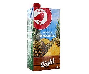 PRODUCTO ALCAMPO LIGHT Néctar sin azúcar añadido de piña auchan light Brick de 2 l