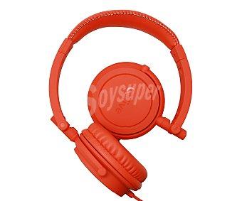 Qilive Auriculares tipo DJ Q1544 864865 con cable, rojo 864865 con cable, rojo