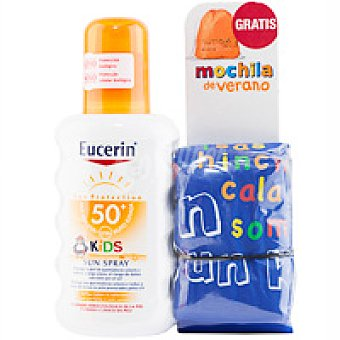 INFANTIL Eucerin pack spray 50 + mochila