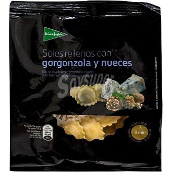 El Corte Inglés Soles rellenos con gorgonzola y nueces Envase 250 g