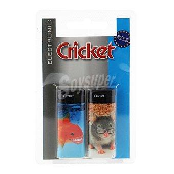 Cricket Encendedor pocket electrónico Pack 2 unid