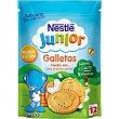 Galletas tamaño mini  envase 180 g Junior Nestlé