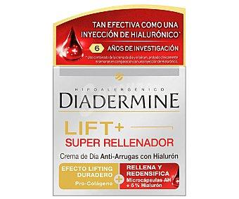Diadermine Crema antiarrugas de día súper rellenador 50 ml + serúm rellenador 30 ml 2 unidades