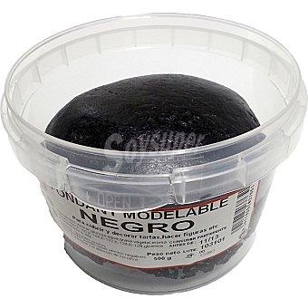Trabel Fondant modelable negro Bote 500 g