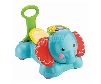 FISHER PRICE Andador con Forma de Elefante, Luces y Sonidos, 3 en 1 1 Unidad