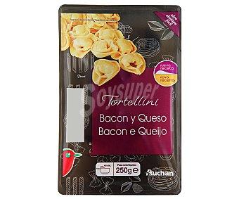 Auchan Tortellini Bacón y Queso (pasta Fresca) 250 gramos