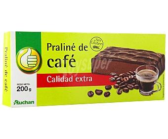 Productos Económicos Alcampo Turrón praliné de café 300 gramos