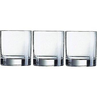 LUMINARC Islande vasos de vidrio 38 cl set de 3 unidades 38 cl