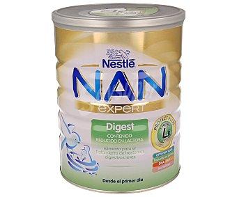 NAN Expert Leche de continuación digestiva reducida en lactosa a partir del primer día 800 gramos