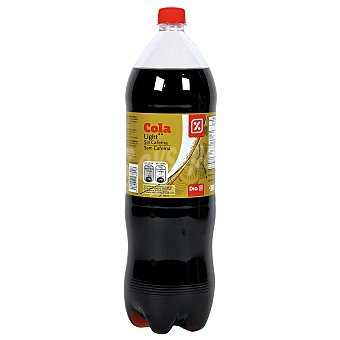 DIA Refresco de cola light sin cafeina botella 2 lt Botella 2 lt