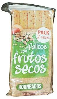 Hacendado Palitos horneados con frutos secos Paquete de 160 g