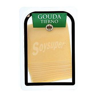 Holland Corona Queso barra lonchas gouda tierno Paquete 300 g