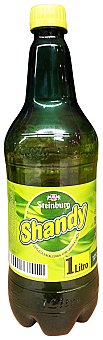 Steinburg Cerveza shandy con limon sin alcohol PET 1 l
