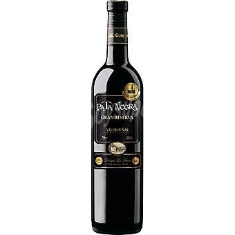 PATA NEGRA vino tinto Gran Reserva D.O. Valdepeñas  botella 75 cl