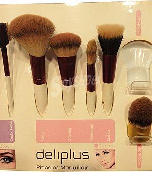 DELIPLUS Pincel coloretes (marca pómulos y corrige) 1 unidad