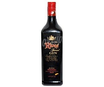 RIVES ESPECIAL Ginebra española tipo London dry gin Botella de 70 centilitros