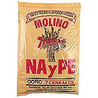 NAYPE Gofio 7 cereales Paquete 1 kg